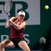 Vera Zvonareva of Russia during their TEB BNP Paribas WTA Championships at Sinan Erdem Arena in Istanbul Turkey on Tuesday, 29 October 2011. Photo by TURKPIX