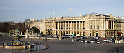 Hôtel de Crillon in Place de la Concorde, Paris, France