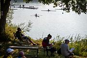 Linz, Austria, Saturday,  31st Aug 2019, FISA World Rowing Championship, Boat Park Area, [Mandatory Credit; Peter SPURRIER/Intersport Images]<br /> <br /> 08:54:43  31.08.19