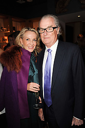 LORD & LADY BELL at a party to celebrate 25 years of the David Linley store , 60 Pimlico Road, London on 16th November 2010.