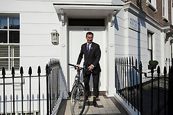© Licensed to London News Pictures. 14/06/2012. LONDON, UK. Conservative MP Jeremy Hunt, the British Government's Secretary of State for Culture, Olympics, Media and Sport is leaving his London home today (14/06/12). Photo credit: Matt Cetti-Roberts/LNP