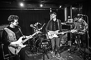 German indie-pop band Albert Luxus supporting Dream Wife at Blue Shell in Cologne