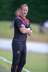 Annan Athletic's manager Peter Murphy. Livingston 1 v 0 Annan Athletic, Scottish League Cup Group F, played 21/7/2018 at Prestonfield, Linlithgow.