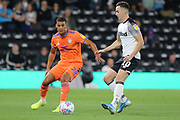 Cardiff City defender Lee Peltier on the ball during the EFL Sky Bet Championship match between Derby County and Cardiff City at the Pride Park, Derby, England on 13 September 2019.