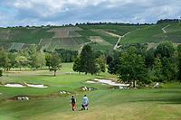 TRIER (Treves) - Duitsland - hole 8 van GCT, Golf Club Trier. . COPYRIGHT KOEN SUYK