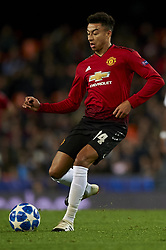 December 12, 2018 - Valencia, Spain - Jesse Lingard of Manchester United during the match between Valencia CF and Manchester United at Mestalla Stadium in Valencia, Spain on December 12, 2018. (Credit Image: © Jose Breton/NurPhoto via ZUMA Press)