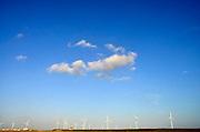 Nederland, Rotterdam, 15-9-2012Tweede, 2e, maasvlakte. Windmolenpark.. the new land.Foto: Flip Franssen/Hollandse Hoogte