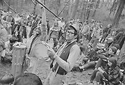 """1006-B013-00 """"Skinners Butte. Hippie festival. Spring 1967"""""""