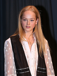 Jean Campbell attending the Burberry London Fashion Week Show at Makers House, Manette Street, London