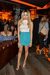 DIONNE BROMFIELD at the Fashion Targets Breast Cancer 20th Anniversary Party held at 100 Wardour Street, Soho, London on 12th April 2016.