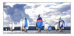 Largs Regatta Week 2011..IRC Fleet downwind