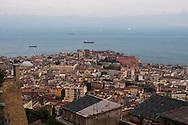 Napoli vista da Castel Sant'elmo.Naples seen from Castel Sant'elmo.