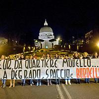 Manifestazione contro prostituzione e degrado all' EUR