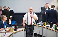 DEU, Deutschland, Germany, Berlin, 02.04.2019: Jürgen Pohl (AfD) vor Beginn der Fraktionssitzung der Partei Alternative für Deutschland (AfD) im Deutschen Bundestag.