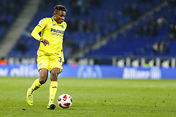 January 17, 2019 - Barcelona, Catalonia, Spain - Samuel Chukwueze (30) of Villarreal CF during the match RCD Espanyol v Villarreal CF, for the round of 16 of the Copa del Rey played at Camp Nou  on 17th January 2019 in Barcelona, Spain. (Credit Image: © Mikel Trigueros/NurPhoto via ZUMA Press)