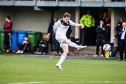 Falkirk's Blair Alston.<br /> Alloa Athletic 0 v 0 Falkirk, Scottish Championship 12/10/2013. played at Recreation Park, Alloa.<br /> ©Michael Schofield.