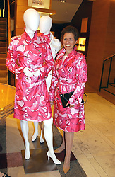 ROSE MARIE BRAVO Chief Executive of Burberry at a party hosted by Burberry to launch their special collection in aid of Breakthrough Breast Cancer, held at 21-23 New Bond Street, London W1 on 5th October 2004.<br /><br />NON EXCLUSIVE - WORLD RIGHTS