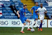 Ryan Croasdale. Stockport County FC 2-0 Chesterfield FC. Vanarama National League. 27.2.21 Edgeley Park.