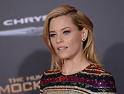 ELIZABETH BANKS  at the premiere of 'The Hunger Games: Mockingjay - Part 2' held at the Micorsoft theatre.<br /> ©Exclusivepix Media