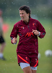 WALLASEY, ENGLAND - Wednesday, July 28, 2021: Liverpool's captain Niamh Fahey during a training session at The Campus as the team prepare for the start of the new 2021/22 season. (Pic by David Rawcliffe/Propaganda)