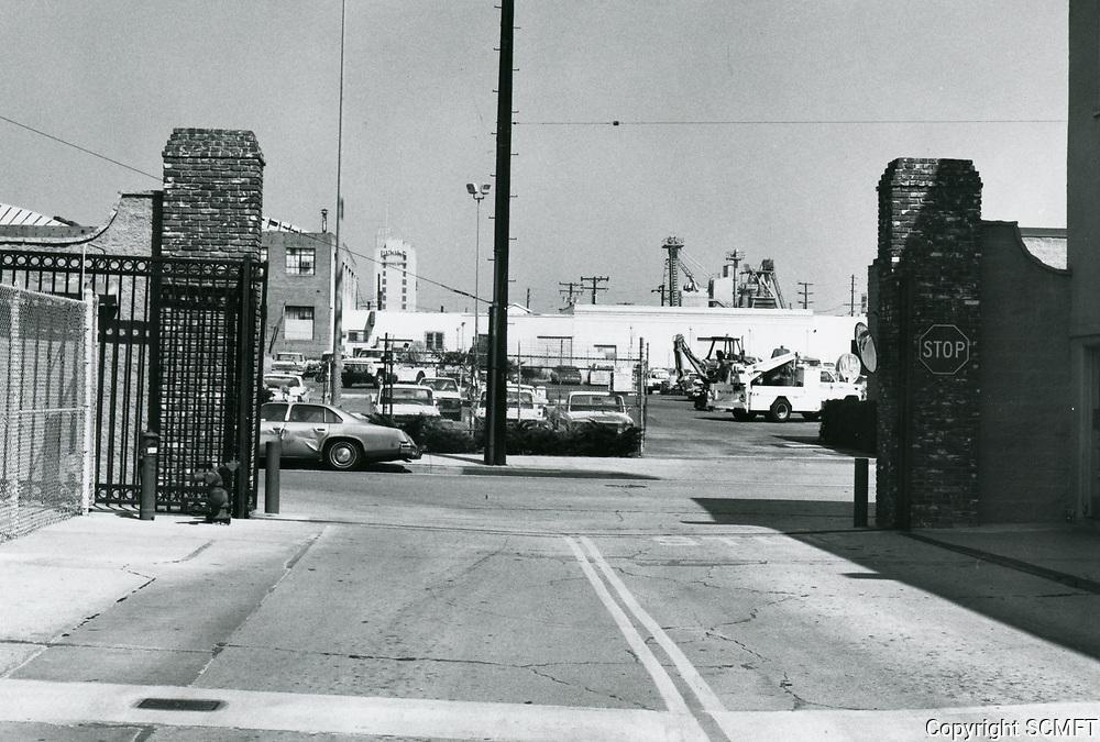 1987 Warner Hollywood Studios at Santa Monica Blvd. & Formosa Ave.