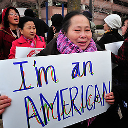 Hmong protest in Minnesota