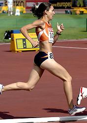 11-08-2006 ATLETIEK: EUROPEES KAMPIOENSSCHAP: GOTHENBURG <br /> Ondanks een knap persoonlijk record heeft Adriënne Herzog zich op de EK in Göteborg niet geplaatst voor de finale van de 1.500 meter<br /> ©2006-WWW.FOTOHOOGENDOORN.NL