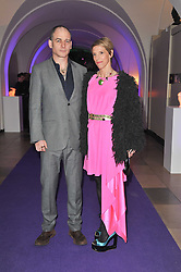 DINOS & TIPHAINE CHAPMAN at The Surrealist Ball in aid of the NSPCC in association with Harpers Bazaar magazine held at the Banqueting House, Whitehall, London on 17th March 2011.