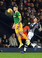 Preston North End's Patrick Bauer <br /> <br /> Photographer Dave Howarth/CameraSport<br /> <br /> The EFL Sky Bet Championship - West Bromwich Albion v Preston North End - Tuesday 25th February 2020 - The Hawthorns - West Bromwich<br /> <br /> World Copyright © 2020 CameraSport. All rights reserved. 43 Linden Ave. Countesthorpe. Leicester. England. LE8 5PG - Tel: +44 (0) 116 277 4147 - admin@camerasport.com - www.camerasport.com