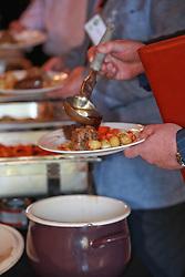 Food buffet self service