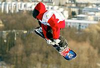 ◊Copyright:<br />GEPA pictures<br />◊Photographer:<br />Mario Kneisl<br />◊Name:<br />Austbo<br />◊Rubric:<br />Sport<br />◊Type:<br />Snowboard<br />◊Event:<br />FIS Weltcup, Big Air<br />◊Site:<br />Klagenfurt, Austria<br />◊Date:<br />18/12/04<br />◊Description:<br />Frederik Austbo (NOR)<br />◊Archive:<br />DCSKN-1812044316<br />◊RegDate:<br />18.12.2004<br />◊Note:<br />8 MB - WU/MP - Nutzungshinweis: Es gelten unsere Allgemeinen Geschaeftsbedingungen (AGB) bzw. Sondervereinbarungen in schriftlicher Form. Die AGB finden Sie auf www.GEPA-pictures.com.<br />Use of picture only according to written agreements or to our business terms as shown on our website www.GEPA-pictures.com.