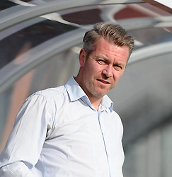 Bristol Academy manager Willie Kirk - Photo mandatory by-line: Paul Knight/JMP - Mobile: 07966 386802 - 09/05/2015 - SPORT - Football - Bristol - Stoke Gifford Stadium - Bristol Academy Women v Arsenal Ladies FC - FA Women's Super League