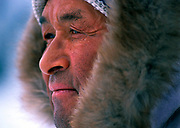 Polar Inuit Hunters-Ussarquk Henson<br /> Grandson of famed Polar Explorer Matthew Henson, Ussarquk is the Inuit patriarch of Qaanaaq, Greenland the world's most northern community. Henson still hunts the frozen seas of Bafin Bay for seals, walrus and polar bears. Henson leads hunters traveling by dogsled down the coast visiting relatives in several villages as long as the sea remains frozen. Facing open water forces the dogteams inland to traverse the ice shield surviving off stored provisions from the ocean or cached.
