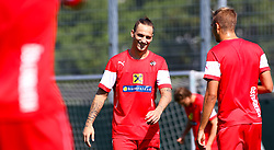 01.09.2015, Ernst Happel Stadion, Wien, AUT, UEFA Euro 2016 Qualifikation, Österreich vs Moldawien, Gruppe G, Training Österreich, im Bild Marko Arnautovic (AUT)// during a training session of Team Austria (AUT) in front of the UEFA European Championship Qualifier Match between Austria (AUT) and Moldova (MDA) at the Ernst Happel Stadion, Vienna, Austria on 2015/09/01. EXPA Pictures © 2015, PhotoCredit: EXPA/ Sebastian Pucher