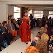 Modeshow Sheila de Vries, model, overzicht, publiek