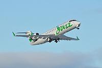 Air Canada Jazz CRJ-200 Regional Jet on take-off