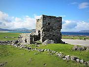 Carrickabraghy Castle, Doagh Island, Donegal,  c.1600,
