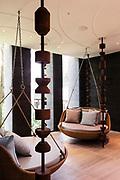 Six Senses Spa after treatment lounge area