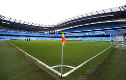 A general view of the pitch at Etihad Stadium