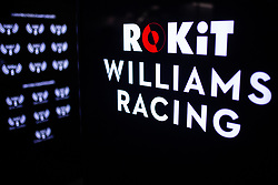 February 18, 2019 - Montmelo, BARCELONA, Spain - Rokit Williams Racing logo during the Formula 1 2019 Pre-Season Tests at Circuit de Barcelona - Catalunya in Montmelo, Spain on February 18. (Credit Image: © AFP7 via ZUMA Wire)