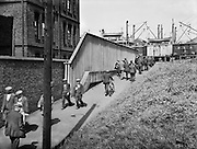 Docklands, Lunch Hour,  London, England, 1934