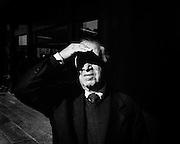 Anziano, Roma 9 novembre 2014.  Christian Mantuano / OneShot