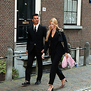 Huwelijk Patrick Kluivert en Angela van Hulten Amsterdam, Ruud Gullit en Estelle Cruijff