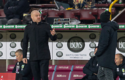 BURNLEY, ENGLAND - Tuesday, December 29, 2020: Burnley's manager Sean Dyche during the FA Premier League match between Burnley FC and Sheffield United FC at Turf Moor. Burnley won 1-0. (Pic by David Rawcliffe/Propaganda)