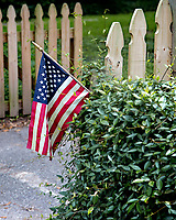 American Flag, McClellanville, South Carolina photo by catherine brown