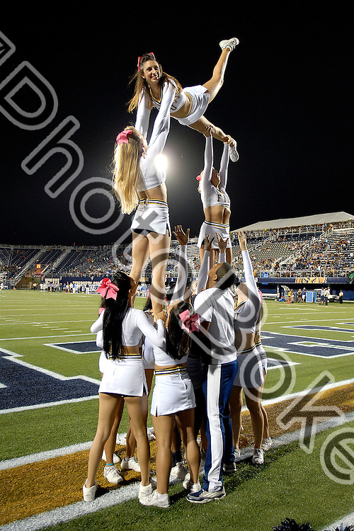 2012 October 13 - FIU Cheerleaders..Florida International University football team fell to Middle Tennessee, 30-34, at Alfonso Field, Miami, Florida. (Photo by: www.photobokeh.com / Alex J. Hernandez) This image is copyright PhotoBokeh.com and may not be reproduced or retransmitted without express written consent of PhotoBokeh.com. ©2012 PhotoBokeh.com - All Rights Reserved