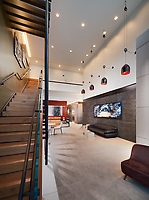 Architectural interior of 1221 Van Apartments in Washington DC by Jeffrey Sauers of Commercial Photographics, Architectural Photo Artistry in Washington DC, Virginia to Florida and PA to New England