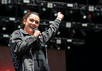 Celeste Baber at Fire Fight Australia at the  ANZ Stadium Sydney Australa 16 Feb 2020 Photo BY Rhiannon Hopley