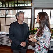 NLD/Netherlands/20190506 - 100%NL Magazine viert 10 Jarig jubileum, Dirk Zeelenberg in gesprek met Quinty Trustfull