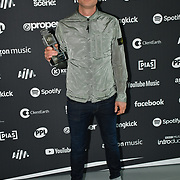 Gerry Cinnamon receive awards at AIM Independent Music Awards at the Roundhouse on 3 September 2019, Camden Town, London, UK.